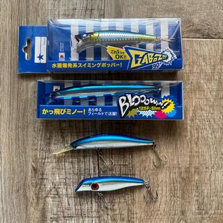 BLUE BLUE - ガボッツ ブローウィン ブルーブルー アムズデザイン シーバス バチ抜け ヒラメ