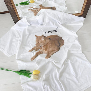 Santa Monica - 猫tシャツ