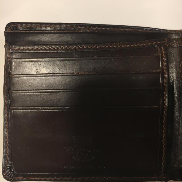 WHITEHOUSE COX(ホワイトハウスコックス)のWhitehouse Cox ホワイトハウス コックス 二つ折り 財布 ブラウン メンズのファッション小物(折り財布)の商品写真