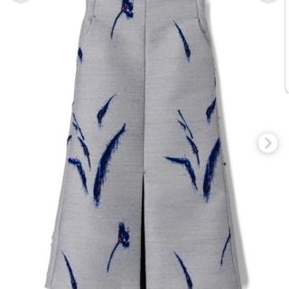 mame - mame ジャガード花柄スカート size1
