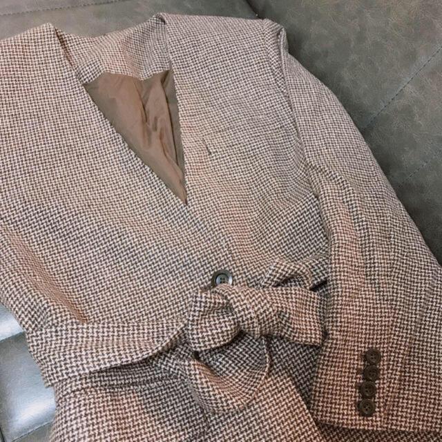 Mila Owen(ミラオーウェン)の専用 レディースのジャケット/アウター(ノーカラージャケット)の商品写真