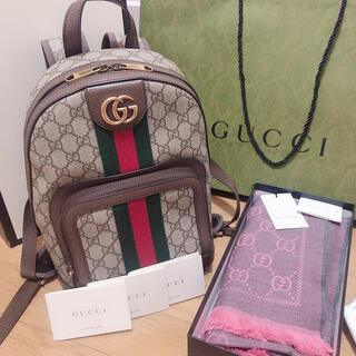 Gucci - GUCCI リュック ストール