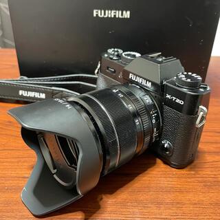 富士フイルム - FUJI FILM X−T20 18-55mmレンズキット BLACK
