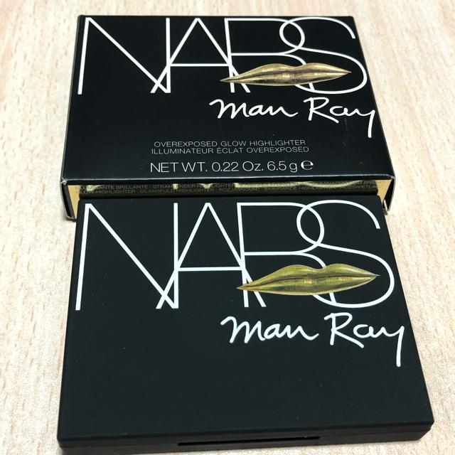 NARS(ナーズ)の限定【NARS】オーバーエクスポーズド グロー ハイライター マンレイコラボ  コスメ/美容のベースメイク/化粧品(フェイスパウダー)の商品写真