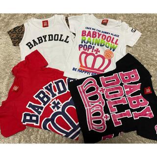 BABYDOLL - ベビードール Tシャツ BABYDOLL 女の子 90サイズ 美品