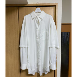 SUNSEA - stein oversized double sleeve shirts シャツ