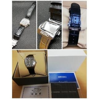 セイコー(SEIKO)の【自動巻き】セイコー プレザージュ PRESAGE トノー型 4R35-02V0(腕時計(アナログ))