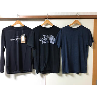 THE NORTH FACE - ノースフェイス メンズ Tシャツ 半袖 長袖Tシャツ 3着まとめて 新品含