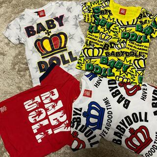BABYDOLL - ベビードール Tシャツ BABYDOLL  男の子 90サイズ 美品