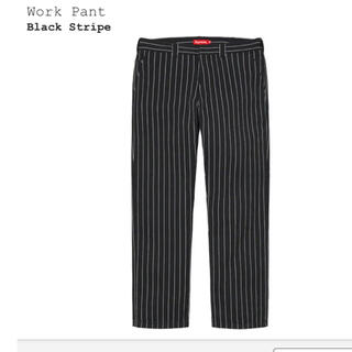 Supreme - supreme Work Pant 30 black stripe 21ss