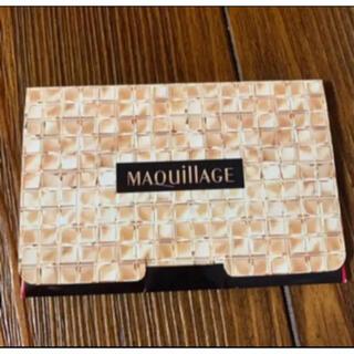 MAQuillAGE - 【マキアージュ 】あぶらとり紙 美容 コスメ スキンケア