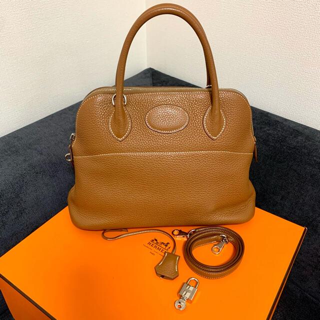 Hermes(エルメス)のご専用です♡早い者勝ち♡エルメス♡ボリード31♡ゴールド♡ レディースのバッグ(ハンドバッグ)の商品写真