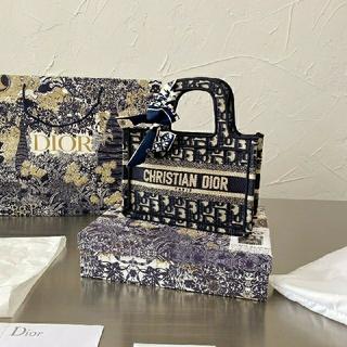 クリスチャンディオール(Christian Dior)のdior   miniキャンパストートブックトート(その他)