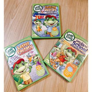 Disney - リープフロッグ DVD 3つセット