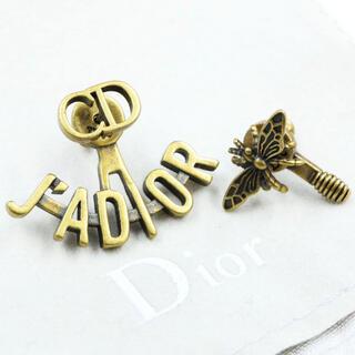 クリスチャンディオール(Christian Dior)の新品未使用 レアdior ディオール jadior 蜂 ピアス ゴールド(ピアス)