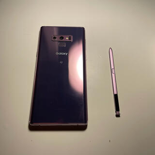 Galaxy - Galaxy Note9 Purple 訳あり