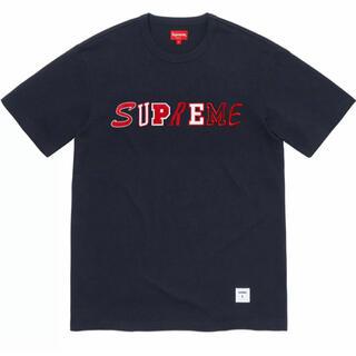 Supreme - Supreme Collage Logo s/s Top