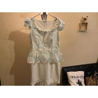 ペプラムドレス  (ナイトドレス)