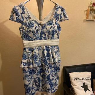 デイジーストア(dazzy store)のペプラムドレス(ナイトドレス)