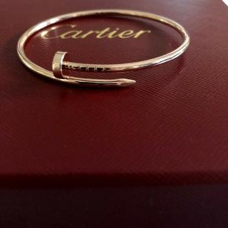 Cartier - カルティエ ジュストアンクル  ブレスレット PG サイズ17