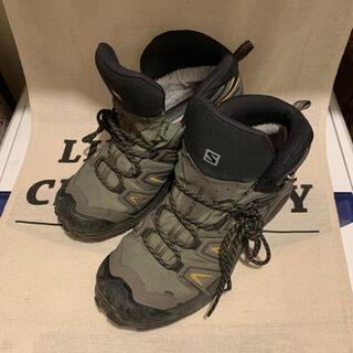 サロモン(SALOMON)の【NANA送料無料様】登山靴 SALOMON 25cm(登山用品)