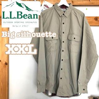エルエルビーン(L.L.Bean)のL.L.Bean シャツジャケット ビッグシルエット ヴィンテージ(シャツ)