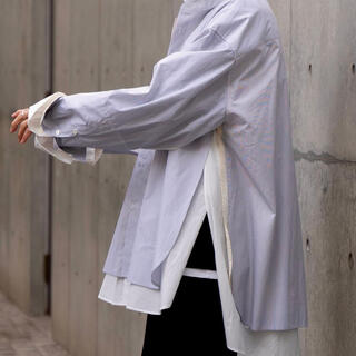 COMOLI - stein 21ss OVERSIZED 4LAYERED SHIRT