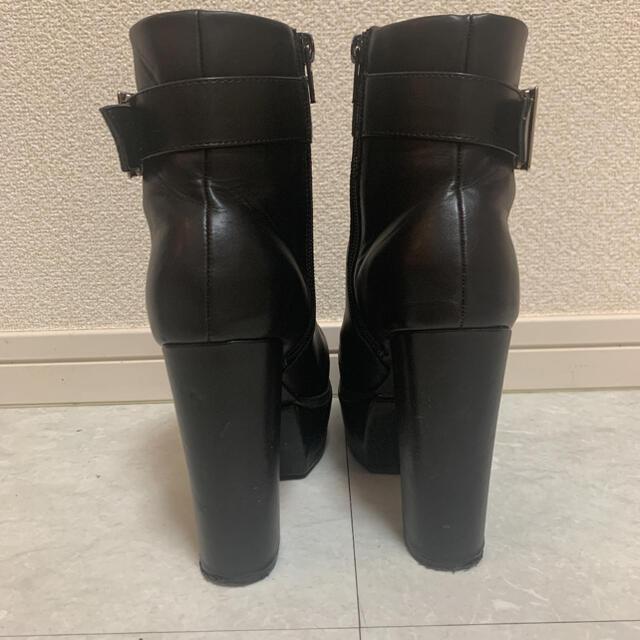 ENVYM(アンビー)の傷あり☆ENVYM 厚底 ショートブーツ レディースの靴/シューズ(ブーツ)の商品写真