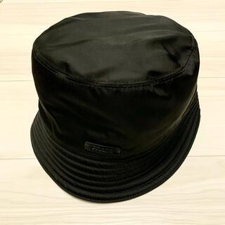 PRADA - 帽子 バケットハット プラダ ブラック 黒 M