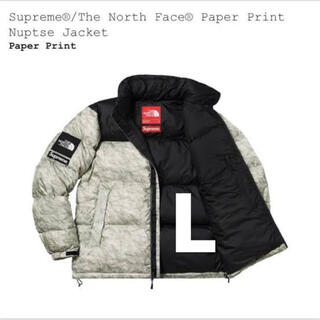 Supreme - Supreme North Face Paper Nuptse Jacket L