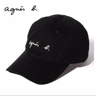 agnes b. - agnes b. アニエスベー キャップ 帽子 ブラック 男女兼用 セール中❗️