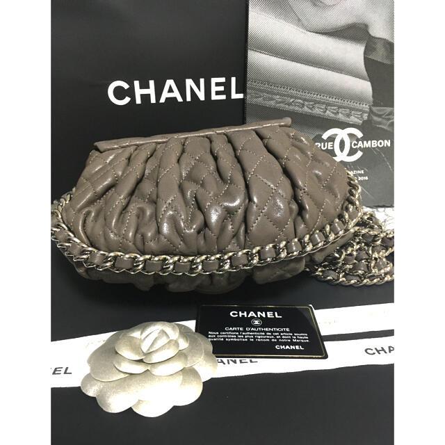 CHANEL(シャネル)の超美品 ★シャネル チェーンアラウンド ショルダーバッグ チェーンバッグ レディースのバッグ(ショルダーバッグ)の商品写真