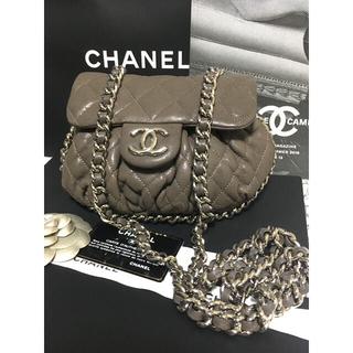 CHANEL - 超美品 ★シャネル チェーンアラウンド ショルダーバッグ チェーンバッグ