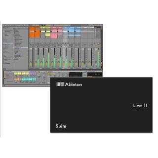 【正規ライセンス譲渡】Ableton Live11 Suite (DAWソフトウェア)