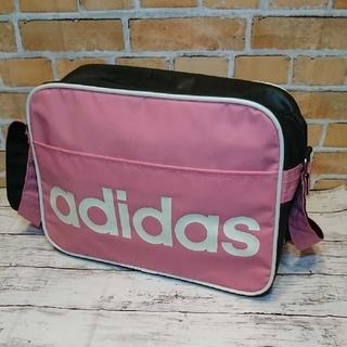 adidas - adidasバックアディダスショルダーバッグピンク
