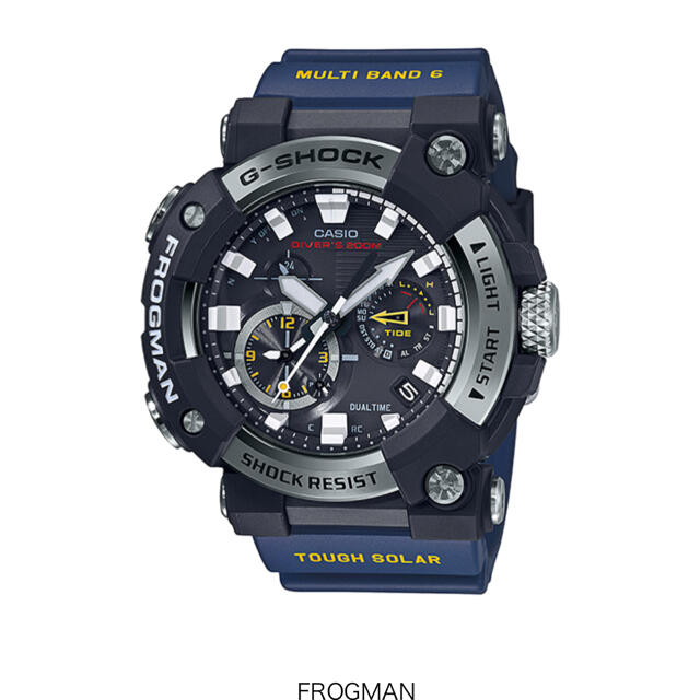 G-SHOCK(ジーショック)のカシオ G-SHOCK フロッグマン GWF-A1000-1A2JF メンズの時計(腕時計(アナログ))の商品写真