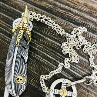goro's - silver925 金爪フェザー ネックレス /  ゴローズ 好きに 新品
