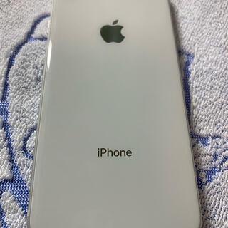 アップル(Apple)のiPhone8本体 256GB ホワイト シルバー 美品(スマートフォン本体)