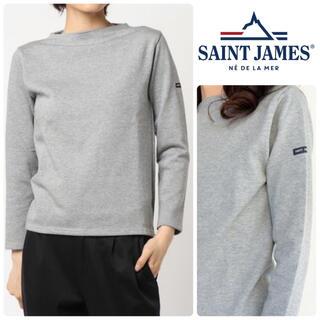 SAINT JAMES - SAINT JAMES ギルドウェッソン Tシャツ T2 新品 グレー M