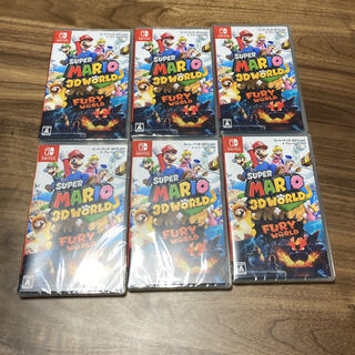 Nintendo Switch - 新品未開封セット スーパーマリオ3Dワールド+フューリーワールド Switch