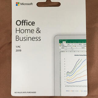Microsoft - Microsoft Office2019 Home&Business プロダクト