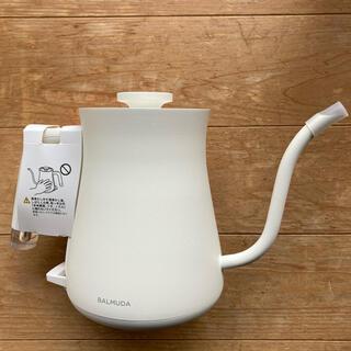 BALMUDA - バルミューダ 電気ケトル BALMUDA The Pot 白 ❤︎新同品❤︎