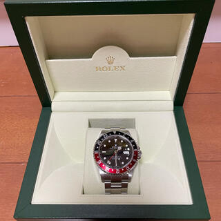 ROLEX - ROLEX GMT-MASTER II Ref.16710 D番 赤黒ベゼル