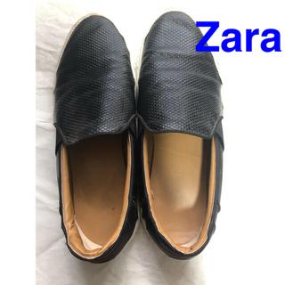 ザラ(ZARA)の週末千円セール ZARAメンズ シューズ 44 (28cm)(スリッポン/モカシン)