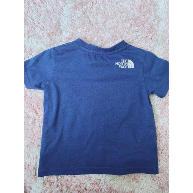 THE NORTH FACE(ザノースフェイス)のノースフェイス Tシャツ 80 キッズ/ベビー/マタニティのベビー服(~85cm)(Tシャツ)の商品写真