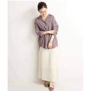 IENA - ドットプリントスカート