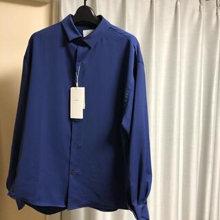 STUDIOUS - 【21SS新作】Lui's 袖ボリュームシャツ BLUE