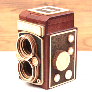 KALDI - オンラインストア完売! KALDI  一眼レフレックスカメラ(木箱)茶色