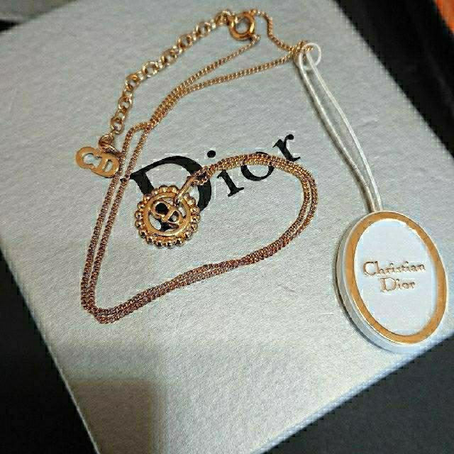 Christian Dior(クリスチャンディオール)のクリスチャンディオール ネックレス ヴィンテージ レディースのアクセサリー(ネックレス)の商品写真