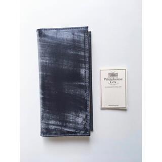ホワイトハウスコックス(WHITEHOUSE COX)の新品 ホワイトハウスコックス Whitehouse Cox ネイビー 正規品(長財布)